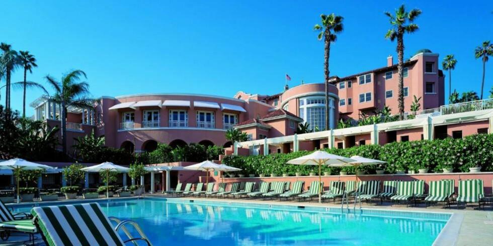 LUKSUS FOR UNGA: På The Beverly Hills Hotel i Los Angeles får barna i ekte Hollywood-stil et eget kredittkort som gir dem tilgang på en ubegrenset mengde brus. The Beverly Hills Hotel