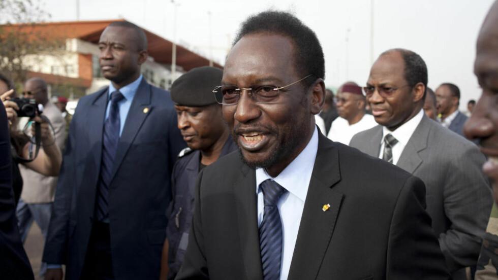 OVERGANGSPRESIDENT:  Diouncunda Traore skal lede den nye overgangsregjeringen i Mali. Han vil ha 40 dager på seg til å organisere et nytt presidentvalg i landet. Foto:
