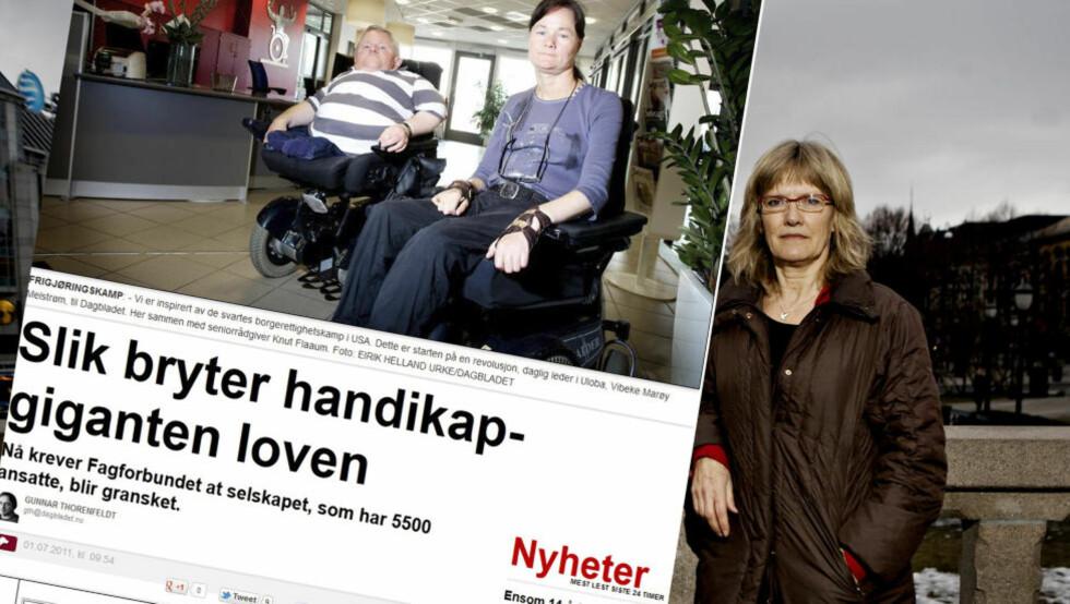 KREVER AT ULOBA RYDDER OPP: - BPA er en helt avgjørende ordning for de som trenger den. Det er veldig trist og skadelig for omdømmet til hele ordningen at Uloba ikke har ryddet opp i dette forlengst, sier SVs Karin Andersen til Dagbladet. Foto: TORBJØRN GRØNNING/DAGBLADET