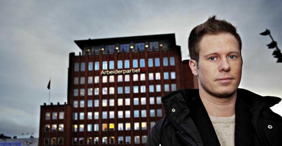 MÅL:  AUF-leder Eskil Pedersen klarte å rømme fra Utøya med ferja MS «Torbjørn». Foto: Nina Hansen / Dagbladet