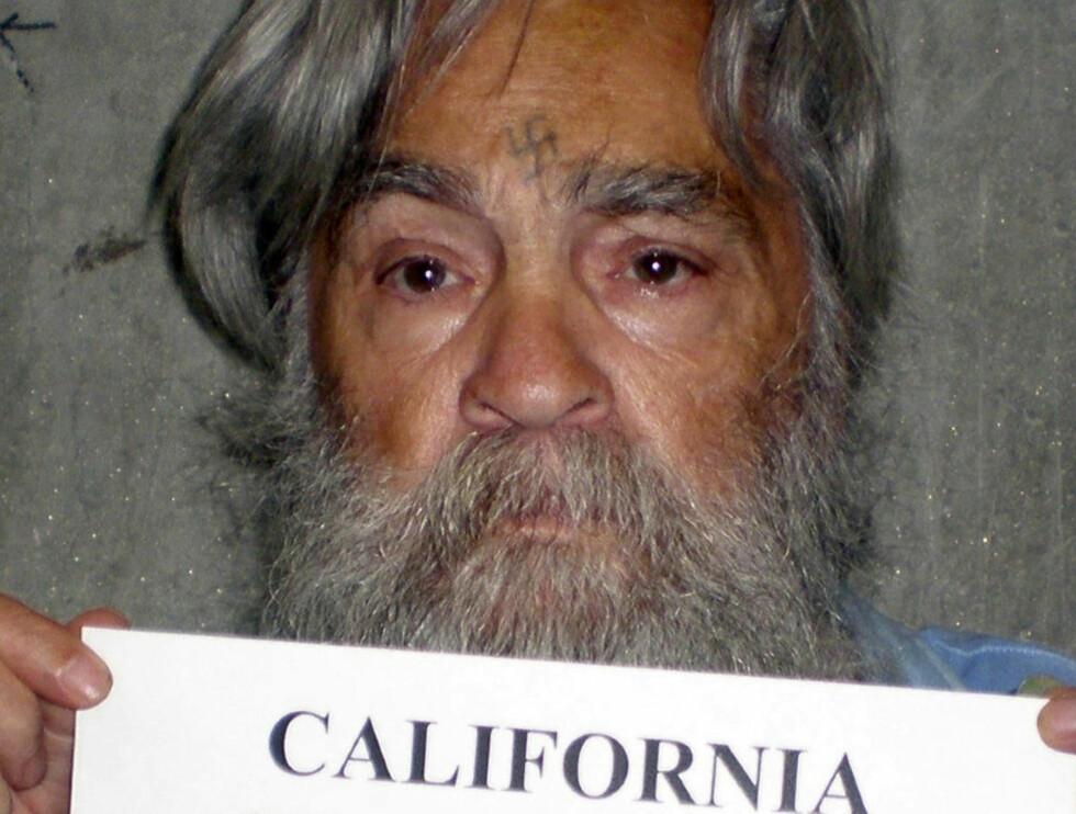 IKKE UT NÅ: Den beryktede massemorderen Charles Manson ble nektet prøveløslatelse. Foto: REUTERS/CDCR/Handout/NTBScanpix