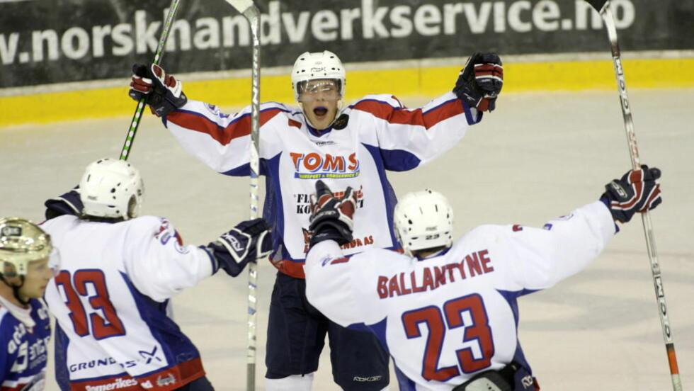 POENGTREKK? Ishockeyklubben Lørenskog glemte søknadsfristen for ny serielisens og kan få poengtrekk foran neste sesong. Foto:Terje Bendiksby / SCANPIX