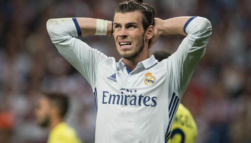 UBESEIRET: Men Gareth Bale og Real Madrid gikk for første gang denne sesongen av banen uten å vinne. Foto: Ruben Albarran/REX/Shutterstock/NTB Scanpix