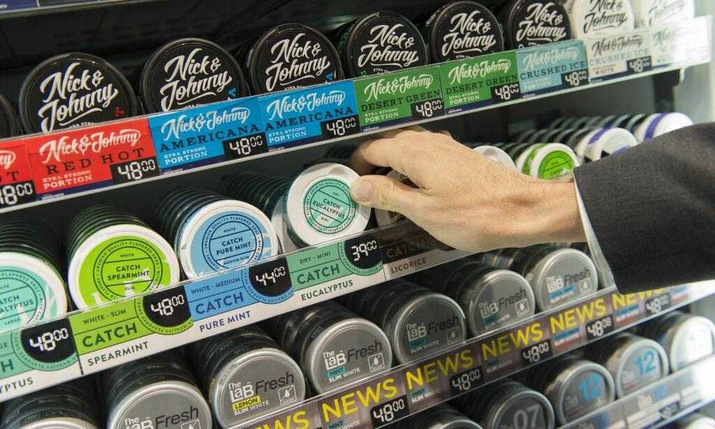 image: Vil ha 20-årsgrense på røyk og snus
