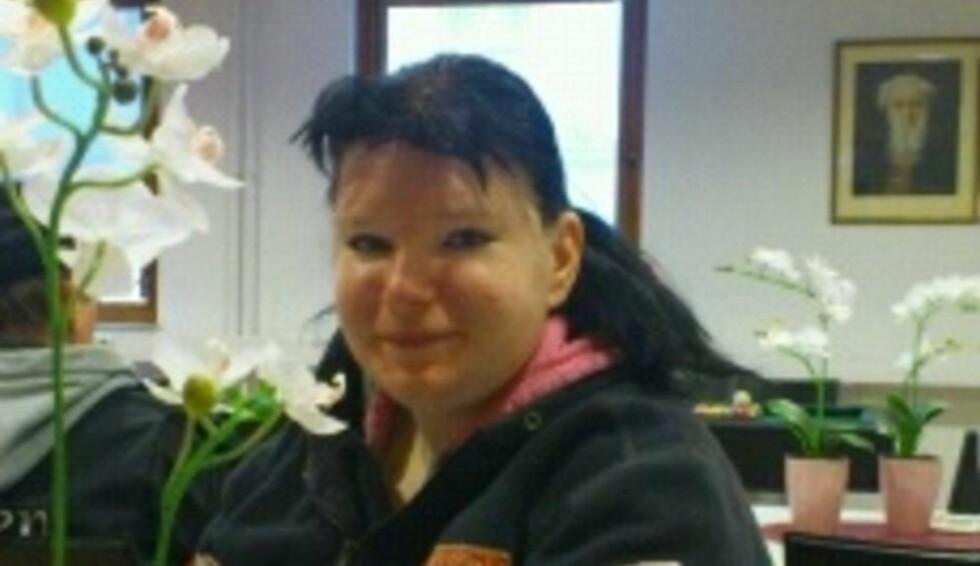 OVERRASKET: Marita Holmerud trodde ikke sine egne øyne da hun skjønte hva hun hadde funnet. Foto: Privat