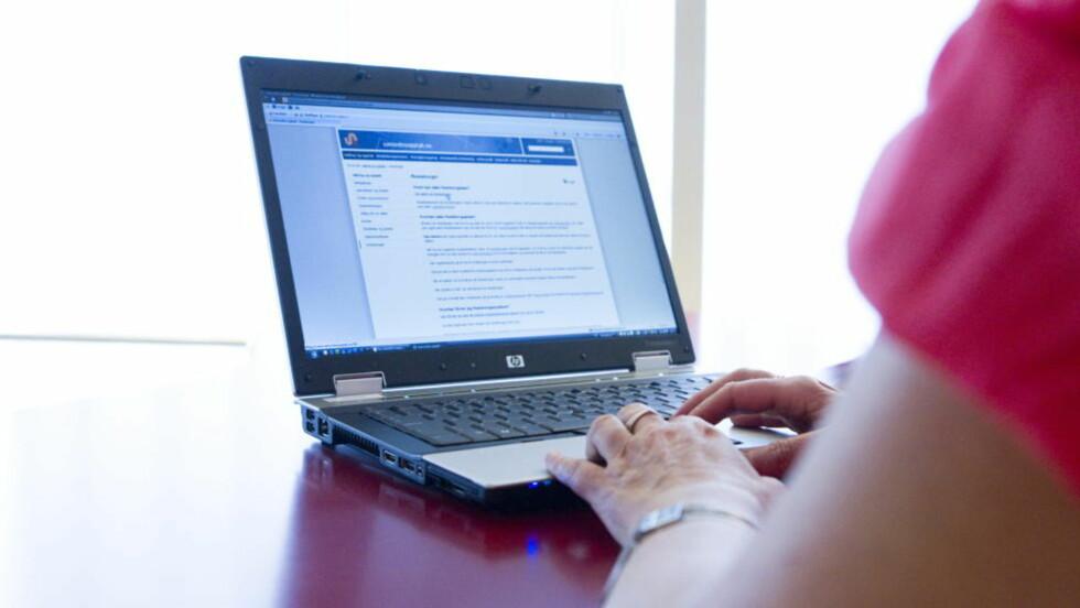 KRØLL: Flere hadd i går problemer med å komme inn på nettsidene til samordna opptak.  Foto: Berit Roald / Scanpix