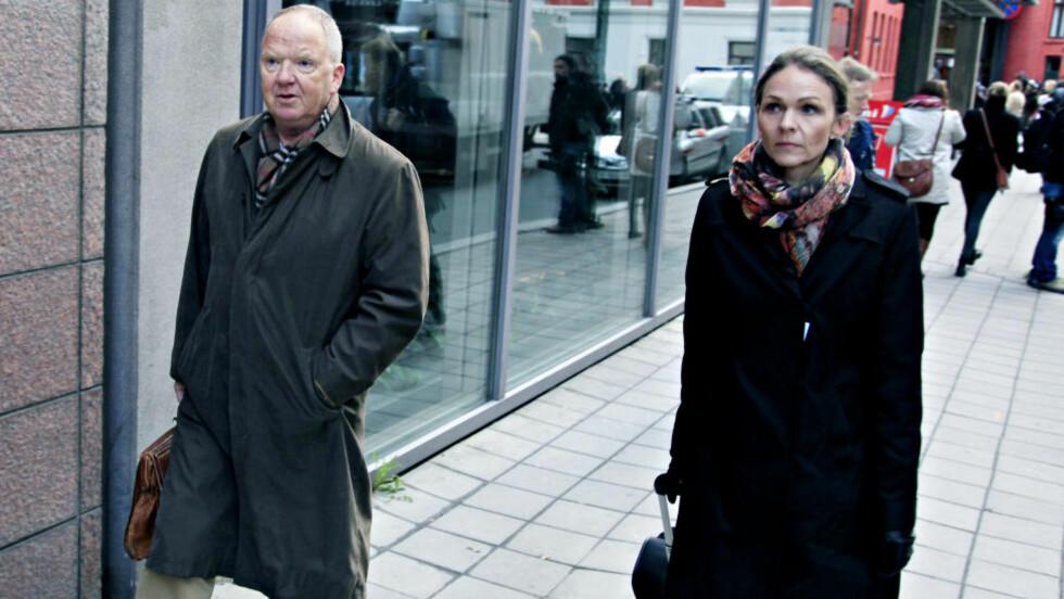 ORDKNAPPE: Torgeir Husby og Synne Sørheim ankommer Oslo tingrett før første dag i terrorsaken. Foto: Jacques Hvistendahl / Dagbladet