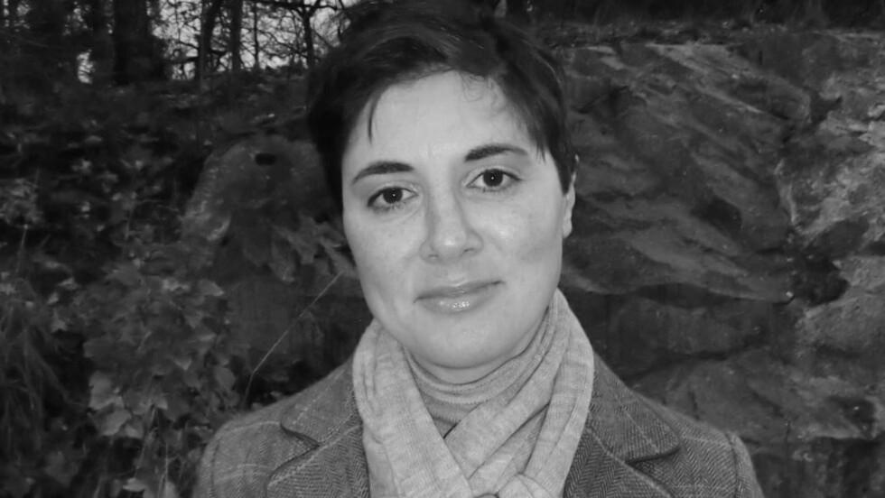 STERK STEMME: Sara Azmeh Rasmussen fikk før helga Fritt Ords pris, «for sitt modige og kompromissløse engasjement for individets ukrenkelighet, for ytringsfrihet og religionskritikk». Foto: HUMANIST FORLAG