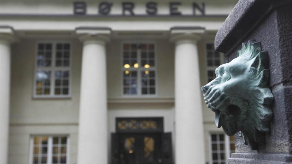Dårlig start: Det ble røde tall på Oslo børs etter helga. Nedgangen i Asia og Europa gir utslag i Norge. Foto: Berit Roald / Scanpix