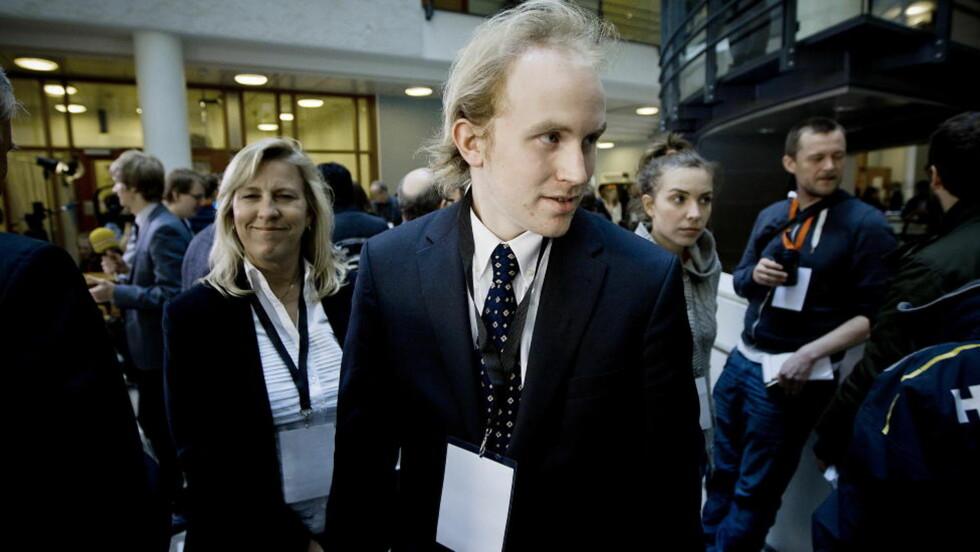 OVERLEVDE UTØYA: Bjørn Ihler har tatt en pause fra studiene for å følge rettssaken mot Anders Behring Breivik. Foto: Bjørn Langsem / Dagbladet.