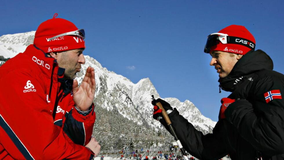 TILBAKE: Roger Grubben var landslagstrener fra 2002 til 2006, og han har også vært personlig trener for Ole Einar Bjørndalen. Nå skal han lede herrene sammen med Espen Nordby Andersen, ifølge NRK. Her fra 2009. Foto:  Arnt E. Folvik/Dagbladet