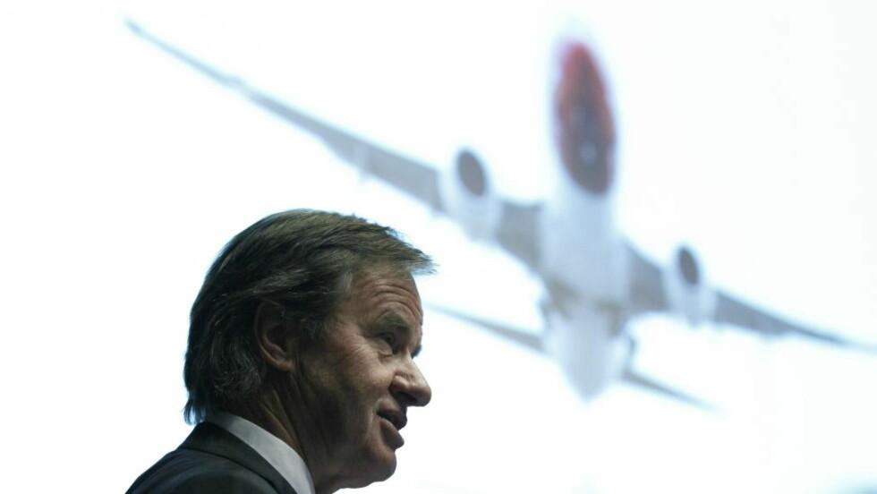 KONFLIKT: Konflikten mellom pilotene og ledelsen i Norwegian var onsdag fortsatt uløst. Flygernes organisasjoner brøt forhandlingene fordi de mener at flyselskapet bare vil basere seg på innleid arbeidskraft og ikke gi ansatte fast stilling. Foto: Berit Roald / Scanpix