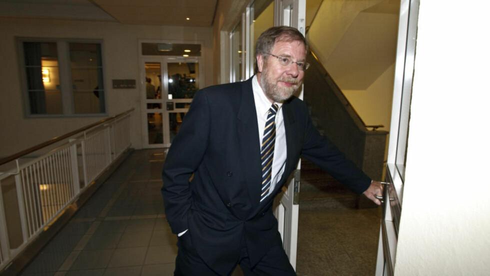 MEKLET FERIDG: Meklingsmann Nils Dalseide stoppet streiken som ville rammet hoteller og restauranter. Foto: Cornelius Poppe / SCANPIX .