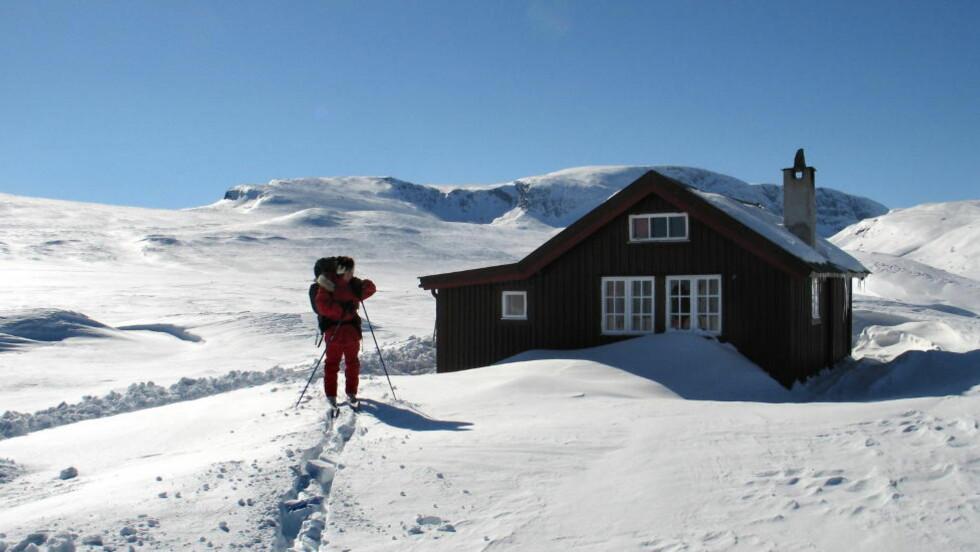 DRA TIL FJELLS: Nedbøren gjør skiforholdene gode på fjellet. Her en hytte ved Geilo. Foto: Geir Bølstad / Dagbladet