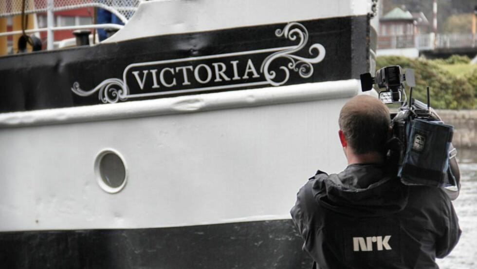 OPPFØLGER: NRK inviterer til en våt reise også denne sommeren. Denne gang er Hurtigruten byttet ut med Telemarkskanalen. Foto: NRK