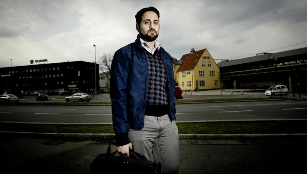 BEKYMRET: Nasir Ahmed frykter for konsekvensene etter all den negative omtalten av muslimer som er gitt av Anders Behring Breivik. Foto: John T. Pedersen / Dagbladet