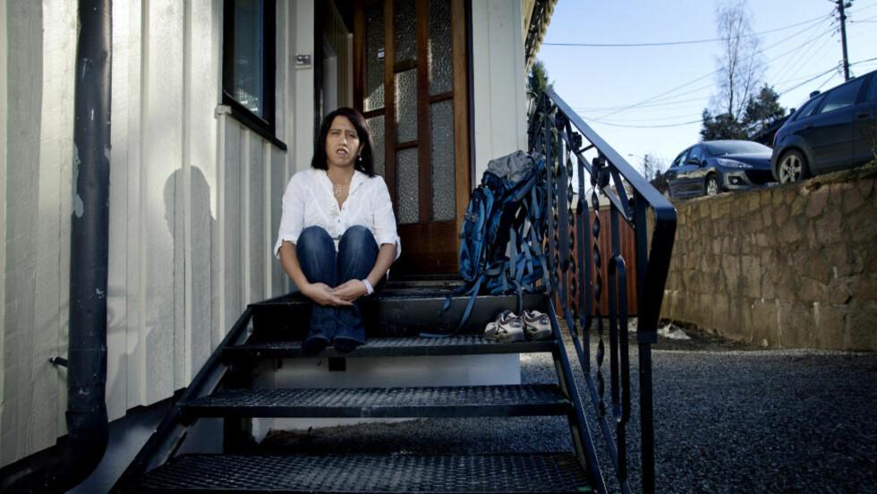 - HELT JÆVLIG: Vanessa Svebakk mistet sin 14 år gamle datter på Utøya. I går måtte hun vantro høre drapsmannen forklare hvorfor han ikke regner seg som noen barnemorder. Foto: Anita Arntzen / Dagbladet