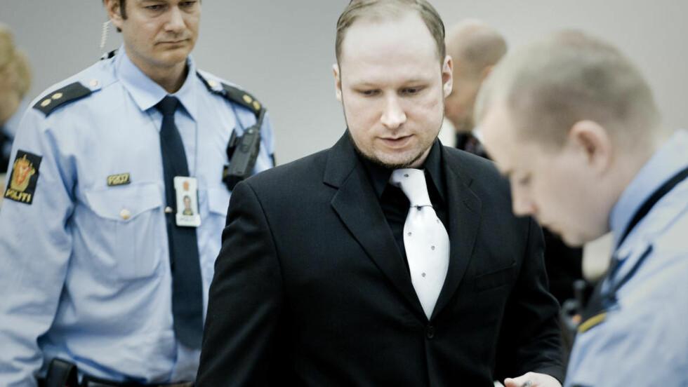 TERRORTILTALT:  Anders Behring Breivik mener mediene hadde en ubalansert dekkning av valget 2009. Foto: Bjørn Langsem / Dagbladet.