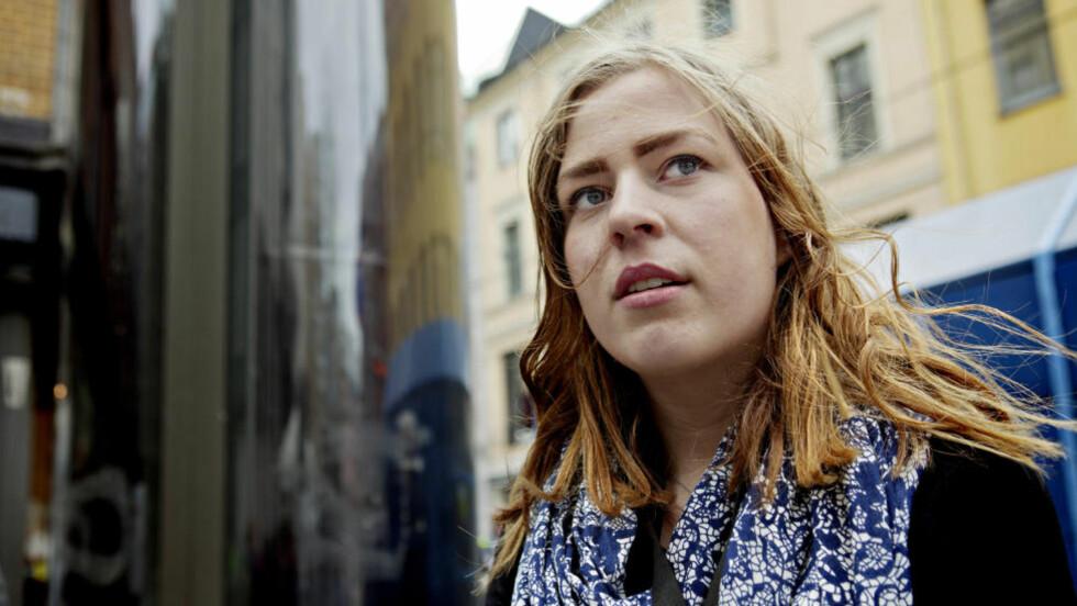 VIL HØRE HVA HAN TENKER:  Andrine Johansen overlevde Utøya har vært til stede i Oslo tingrett flere ganger i løpet av den første uka. Hun ønsker å høre om hva Anders Behring Breivik tenker. Nina Hansen / Dagbladet