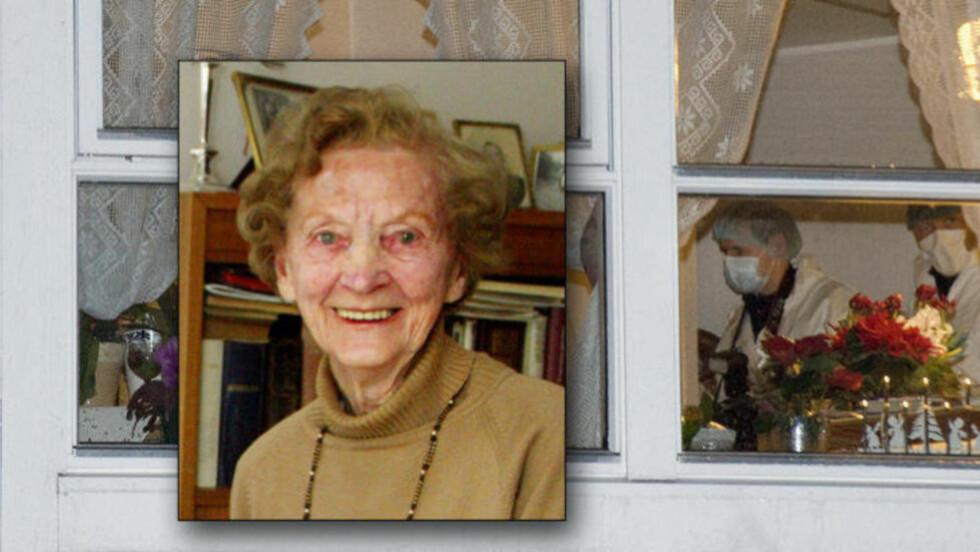 BRUTALT DRAP:  98 år gamle Hilda Feste ble drept 1. januar i år. Foto: Thor Erik H. Mathisen