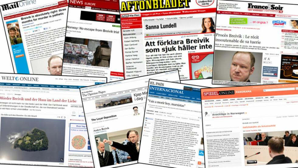 STOR INTERESSE: Verdens øyen er rettet på Norge under rettssaken mot Anders Behring Breivik. Foto: Faksimile