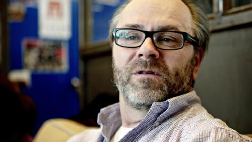 <strong>ENIG:</strong> Arne Berggren mener norsk tv-drama er bedre enn sitt rykte, men ønsker seg både bedre manus og bedre skuespillere. Foto: Lars Eivind Bones / Dagbladet