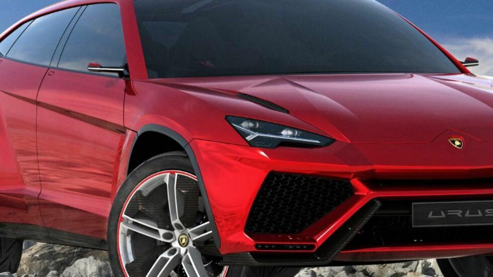 SUPER-SUV: Lamborghini Urus. FOTO: Lamborghini
