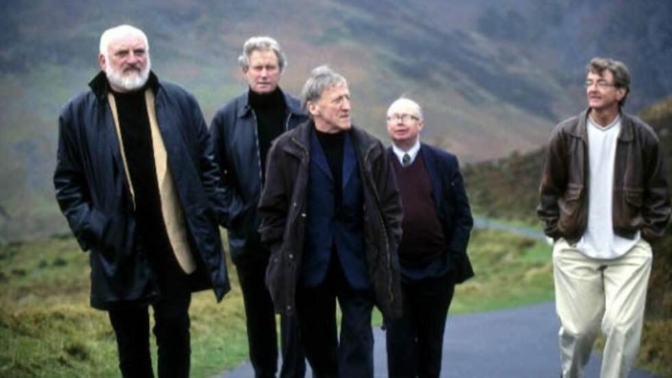 50 ÅR: The Chieftains anno 2012. Paddy Moloney (i midten) har vært med siden starten i 1962.