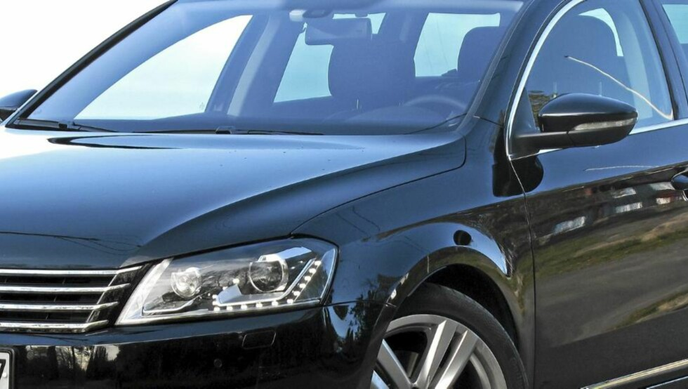 TOPPER LISTA: VW Passat er populær i Norge også. Denne modellen er en stasjonsvogn, 2,0 TDI DSG 4Motion 2011. FOTO: Petter Handeland