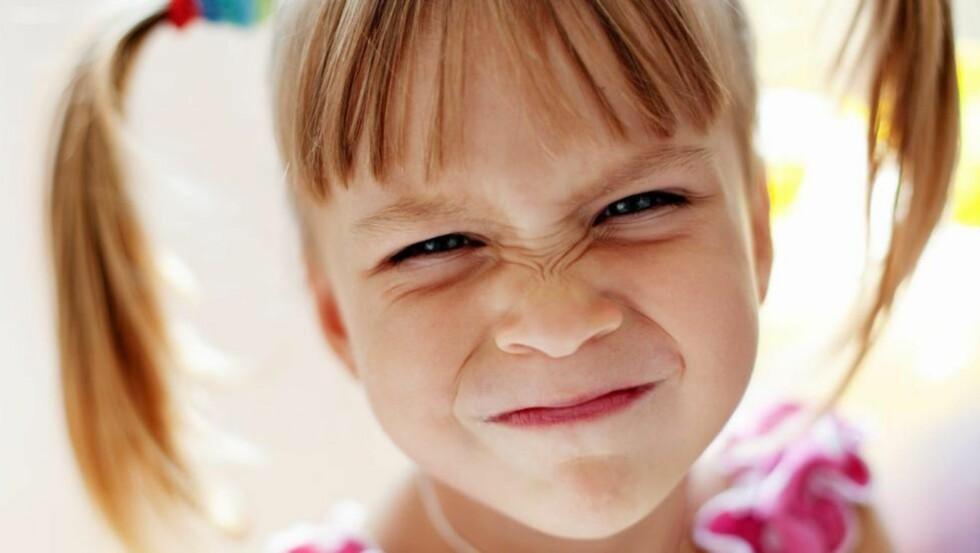 SØT?: Mennesker er tiltrukket av de spesielle ansiktstrekkene babyer har, som stort hode, rundt ansikt og store øyne. Derfor synes vi en nyfødt baby er søtere enn en 4-åring. ILLUSTRASJONSFOTO: www.colourbox.com
