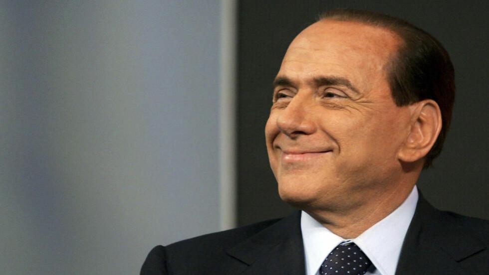 I HARDT VÆR: Ifølge en itliensk domstols utredelse har Berlusconi gitt mistenkelig store beløp til mafiaen. Foto: REUTERS/Alessia Pierdomenico/Files/NTBScanpix