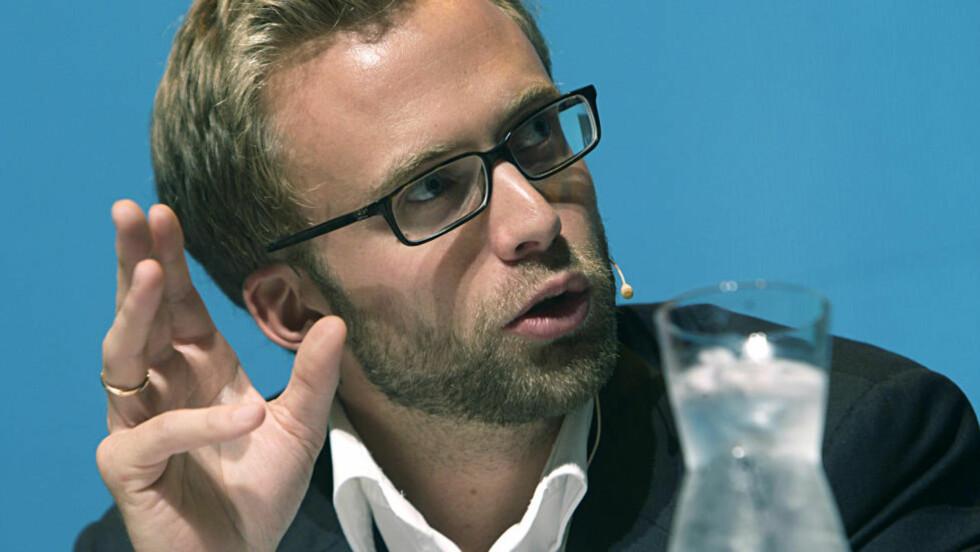 LITE NYTT: Høyres miljøpolitiske talsmann, Nikolai Astrup, mener det vil ta tid å snu samferdselspolitikken.  Foto: Morten Holm / Scanpix