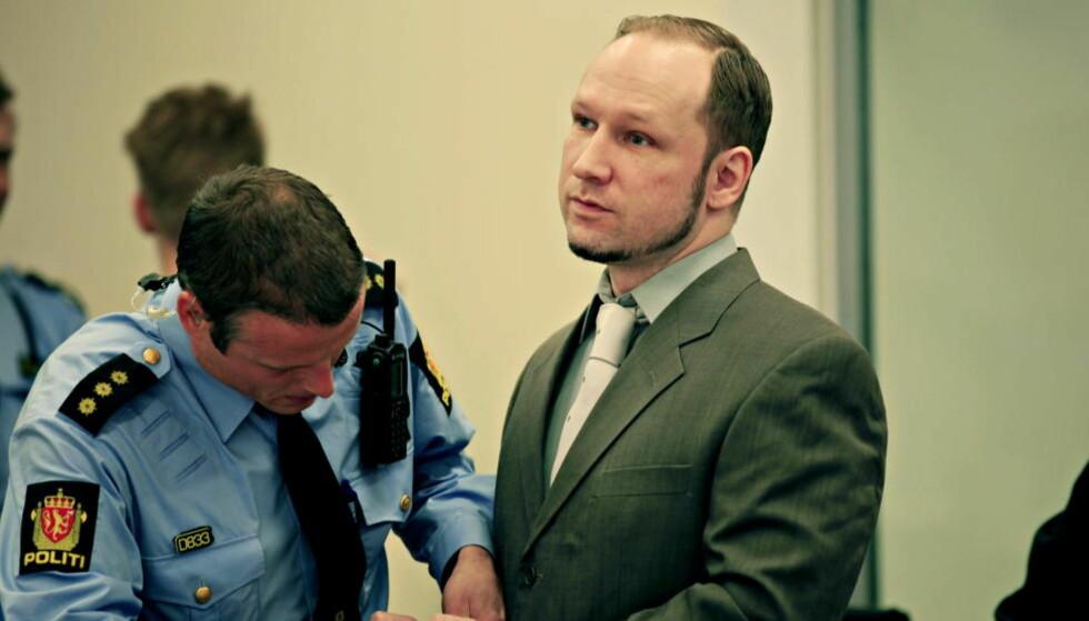 KRITISERER: Anders Behring Breivik er ikke fornøyd med å bli erklært utilregnelig. Foto: Jacques Hvistendahl