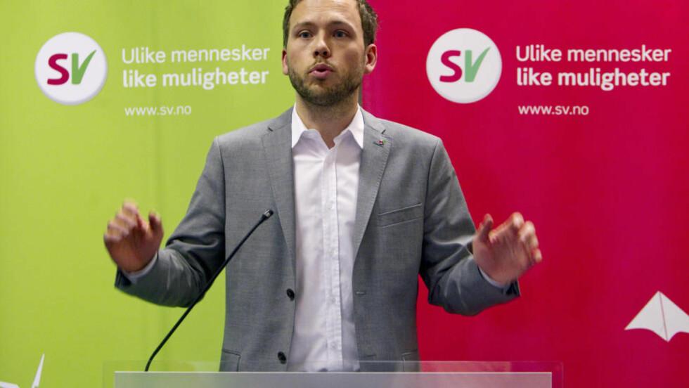 OMSTRIDT: Audun Lysbakken og landsstyret i SV vedtok å tillate tidlig ultralyd sist helg. Foto: Morten Holm / NTB scanpix