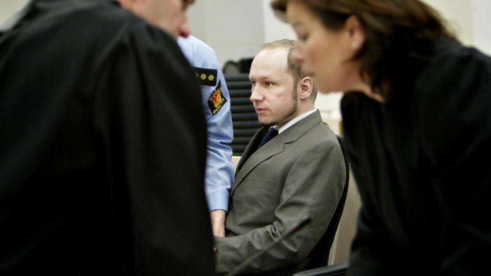 TERRORIST: Anders Behring Breivik hevder han mediterte bort sine egne følelser. Foto: Nina Hansen/Dagbladet