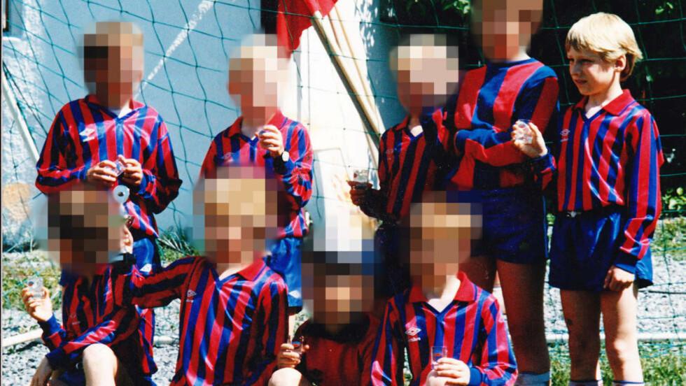 LIBERAL OPPVEKST: I avhør har Breivik oppsummert barndommen som helt vanlig i en middelklassefamilie. Overfor politiet har drapsmannen sagt at han hadde en «liberal oppvekst med veldig frie rammer». Dette bildet er tatt i barneåra. Foto: Privat