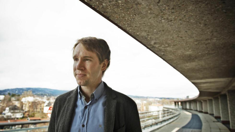 FØRST UT: Kristian Rasmussen ble hardt skadd av bomben 22. juli. Nå er han klar til å vitne i rettsaken mot Anders Behring Breivik. Foto: Fredrik Varfjell / Scanpix