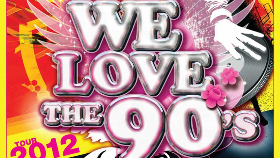 Navnekrangel: Et svensk og et norsk selskap krangler om retten til å bruke varemerket «We Love The 90's». Foto: Collings Entertainment
