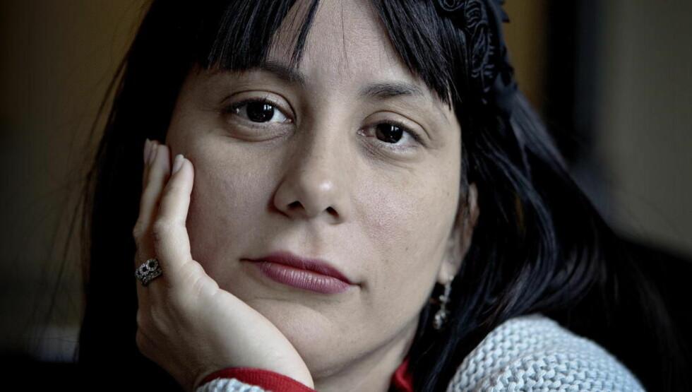Sensureres i hjemlandet: Tross vanskene har forfatter Wendy Guerra valgt å bli boende på Cuba. Foto: Lars Eivind Bones/Dagbladet