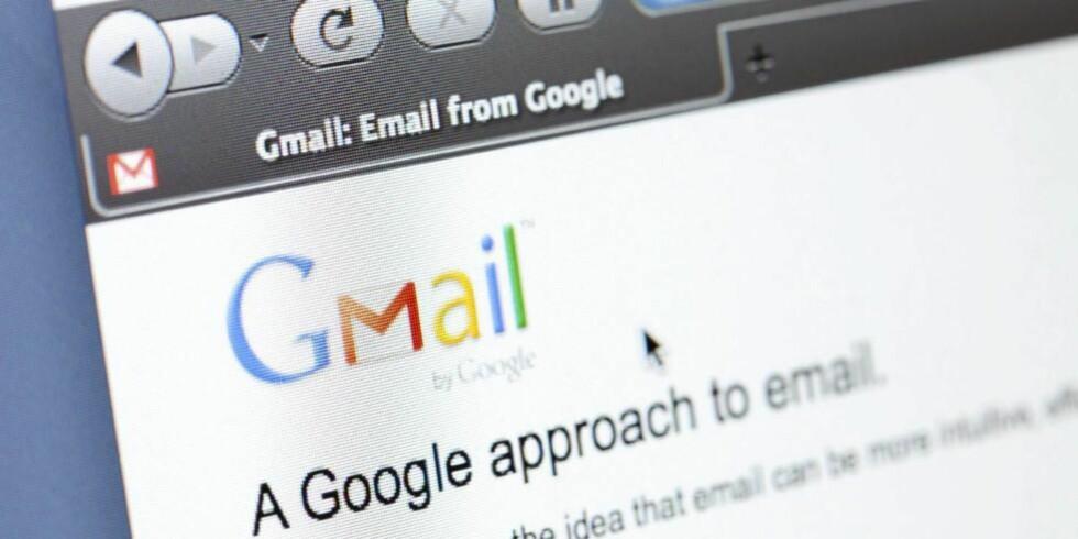 POPULÆR E-POSTTJENESTE: Enkel på overflaten, supersmart under. Gmail illustrasjon iStockphoto