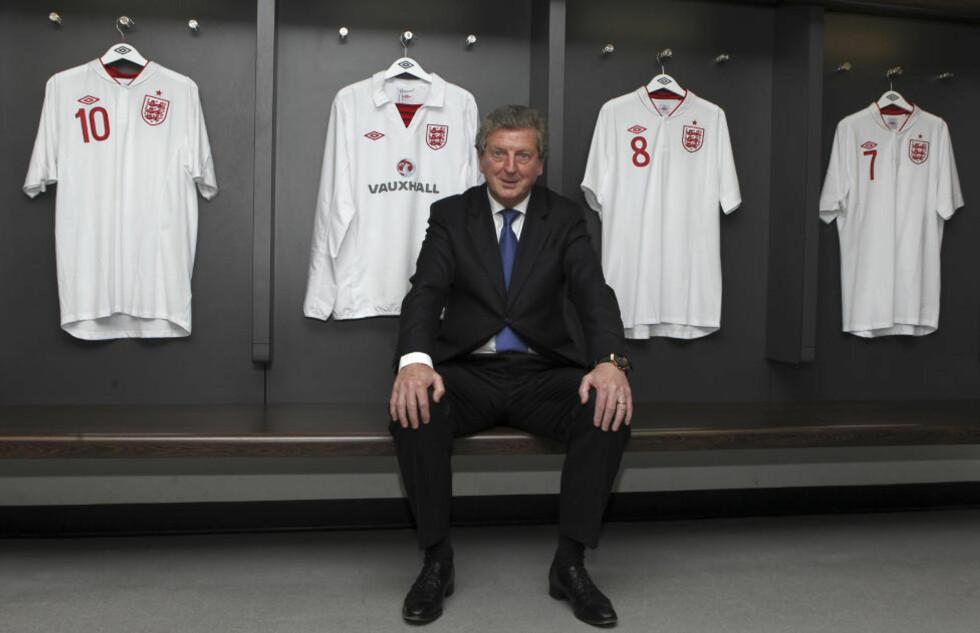 TILBAKE I LANDSLAGSJOBB: Roy Hodgson blir igjen landslagstrener etter at han ble enig med det engelske fotballforbundet om en fireårsavtale.Foto: REUTERS//Andy Couldridge/NTB scanpix