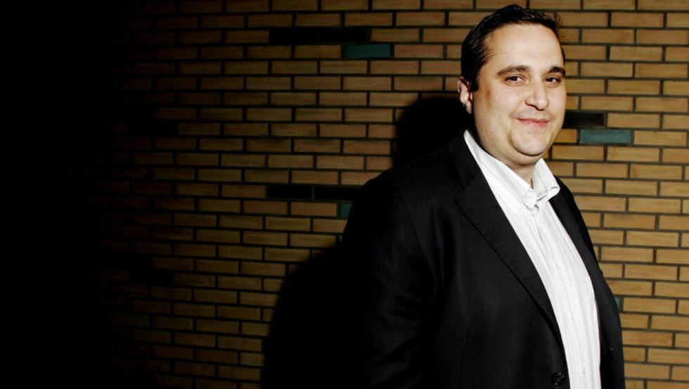 BEDRAGERITILTALT:  Christer Tromsdal startet sin forklaring i Oslo tingrett i dag. Han nekter straffeskyld for de 35 tiltalepunktene Økokrim har siktet ham for. Foto: Kristin Svorte / Dagbladet