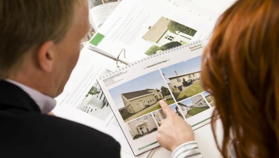 MISFORNØYDE: Ifølge HELP forsikring klager 1 av 4 på boligkjøpet. Foto: Colourbox.com