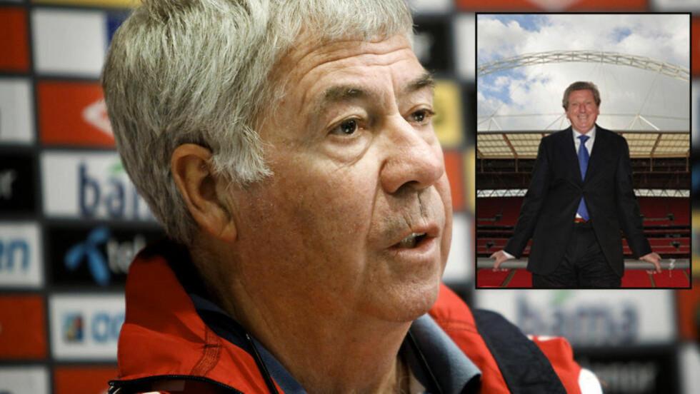 KJENNER HVERANDRE GODT: Drillo møtte blant annet Hodgson som Fredrikstad-trener i 2005 da Hodgson ledet Viking.