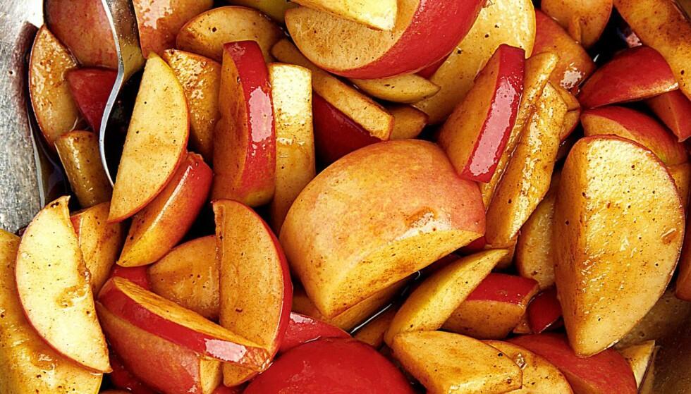ØKOLOGISK: Hvordan er det med deg? Sprøyter du eplene dine?