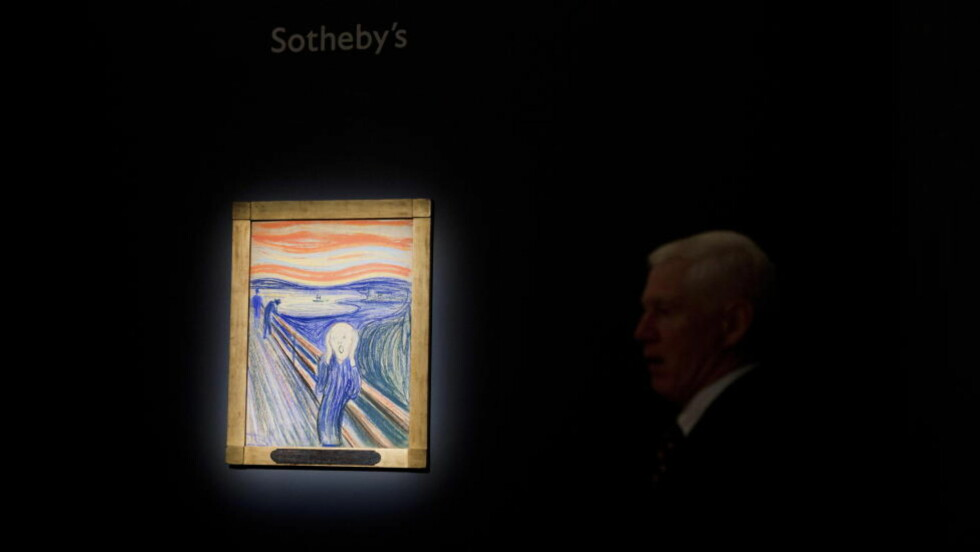 TROR PÅ OFFENTLIGGJØRING: Norske kunsteksperter forstår hvorfor «Skrik»-kjøperen har valgt å ikke stå fram med det første, men håper og tror at det vil skje med tiden. Foto: Johannes Worsøe Berg