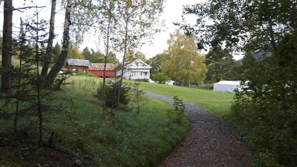 BREIVIKS TREDJE OFFER:  Vaktmannen Rune Havdal ble drept mellom hovedhuset og kafébygget på Utøya. Foto: Terje Bendiksby / Scanpix