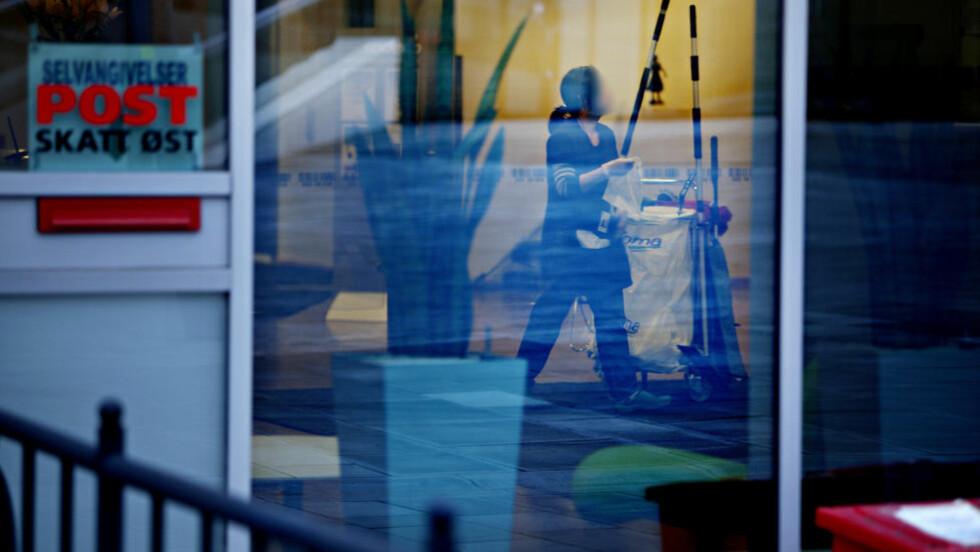 BRØT LOVEN: Tilsynsrapporter Dagbladet har fått tilgang til viser at Arbeidstilsynet har avslørt flere brudd på arbeidsmiljøloven hos Skatt Østs renholdere. Her fra Skatt Østs lokaler i i Schweigårdsgate i Oslo. Foto: Torbjørn Grønning / Dagbladet