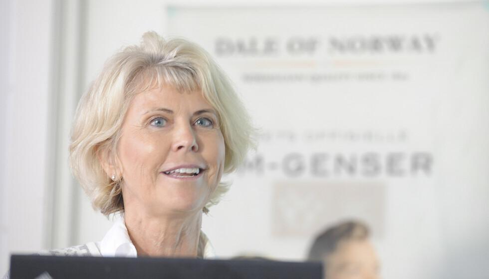 OVER MILLIARDEN: Hilde Midthjell er første kvinne i Norge som har opparbeidet seg en milliardformue helt selv. Foto: Terje Pedersen / NTB scanpix
