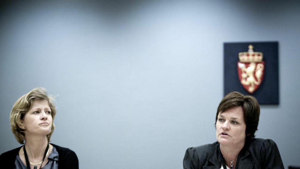 BLIR TØFT: Koordinerende bistandsadvokat Siv Hallgren (til venstre) sier til Dagbladet at hun regner med at det vil komme flere reaksjoner i retten i de neste ukene. Foto: Bjørn Langsem / Dagbladet.